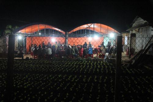 Gia đình tổ chức đám tang cho ông Nguyễn Văn Thảo.