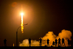 Experimental rocket fell in Plesetsk