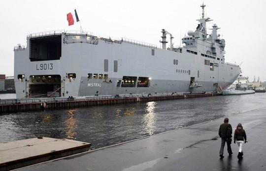 Nga muốn hoàn tiền hơn nhận tàu chiến Mistral. Ảnh: TASS