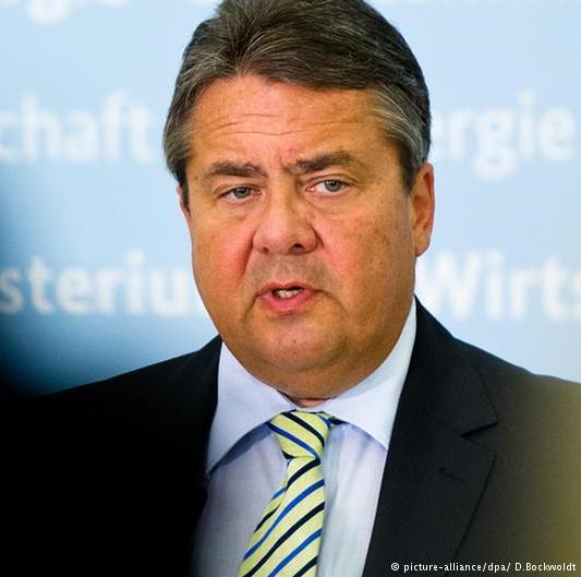 Phó thủ tướng Đức Sigmar Gabriel. Ảnh: DPA