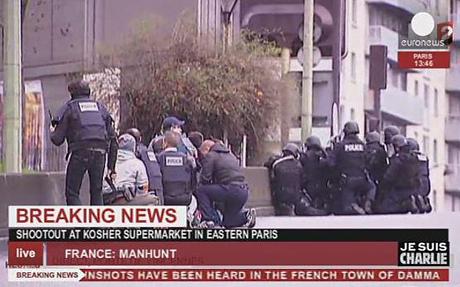 Pháp: 4 con tin ở tiệm tạp hóa thiệt mạng, kẻ bắt cóc bị bắn chết