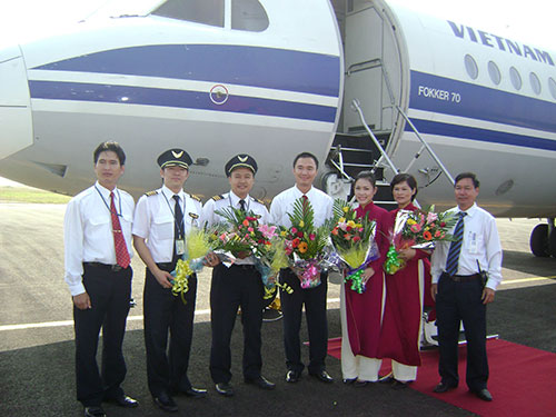 Một đội bay của VNA