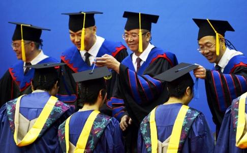 Chiến dịch tư tưởng của Chủ tịch Tập Cận Bình đã len lỏi vào trường học. Ảnh: Tân Hoa Xã