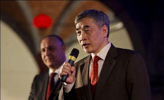 Đại sứ Trung Quốc tại Bỉ Qu Xing. Ảnh: Tân Hoa Xã
