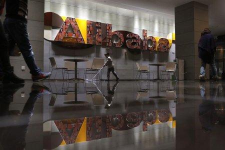 Trụ sở chính Alibaba ở TP Hàng Châu - Trung Quốc. Ảnh: Reuters