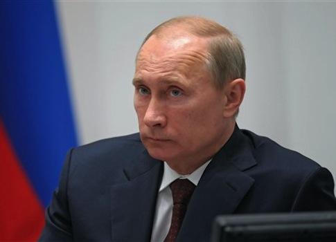 Nga bác tin ông Putin bị ốm. Ảnh: AP