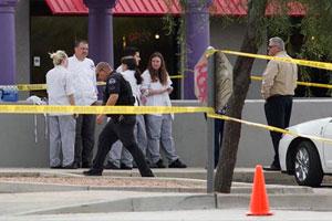 Cảnh sát TP Goteborg đang điều tra vụ xả súng tại nhà hàng. Ảnh: Times of AP