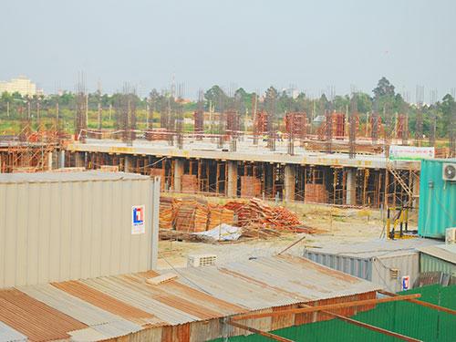 Dự án đang được đơn vị thi công gấp rút triển khai để kịp đưa vào sử dụng trong vòng 18 tháng.