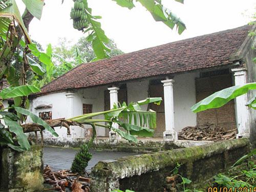 Một trong những ngôi nhà ở thôn 2, xã Thiệu Giao, huyện Thiệu Hóa, tỉnh Thanh Hóa bỏ hoang nhiều năm Ảnh: TUẤN MINH