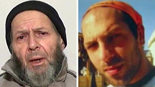 Hai con tin bị UAV Mỹ giết nhầm. Ảnh: Los Angeles Times