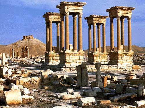 Thành phố ốc đảo cổ xưa Palmyra ở Syria. Ảnh: Atlas Tours
