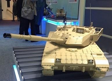 Xe tăng VT-4 của Trung Quốc. Ảnh: Wikimedia