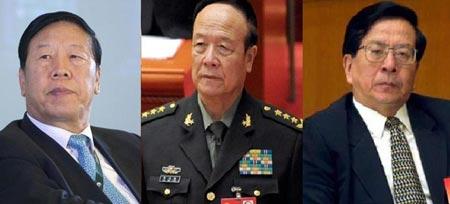 Từ trái qua: Ba ông Đới Tương Long, Quách Bá Hùng và Tăng Khánh Hồng. Ảnh: Want China Times