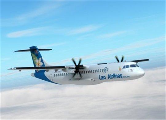 Một máy bay của hãng hàng không Lao Airlines. Ảnh: World Nomads