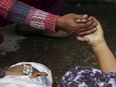Số nạn nhân thiệt mạng trong thảm họa động đất 7,9 độ Richter tại Nepal đã vượt qua con số 3.200 người. Ảnh: Reuters