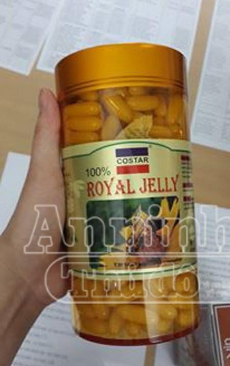 Thực phẩm chức năng nhãn hiệu Royal Jelly giả