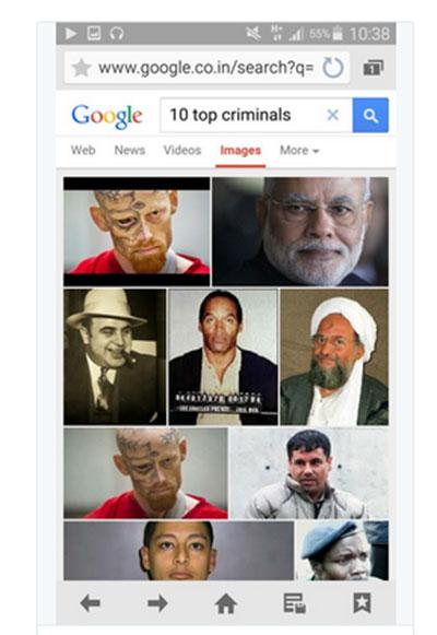 Đôi khi, những hình ảnh được mô tả trên Internet có thể đem lại những kết quả ngạc nhiên với một số lệnh tìm kiếm cụ thể. Ảnh: Twitter