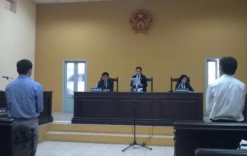 Một phiên tòa dân sự tại TAND quận 1, TP HCM Ảnh: TRƯỜNG HOÀNG