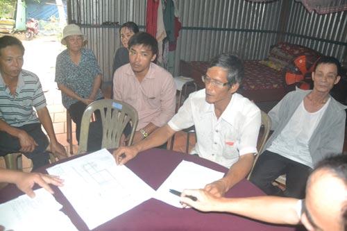 Một số hộ dân ở xã Minh Hưng, huyện Chơn Thành, tỉnh Bình Phước bức xúc về việc bị thu hồi đất