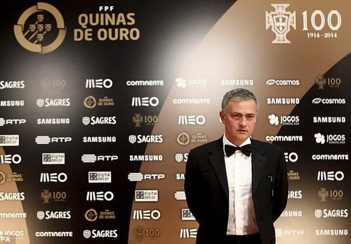Mourinho tại lễ tôn vinh của LĐBĐ Bồ Đào Nha