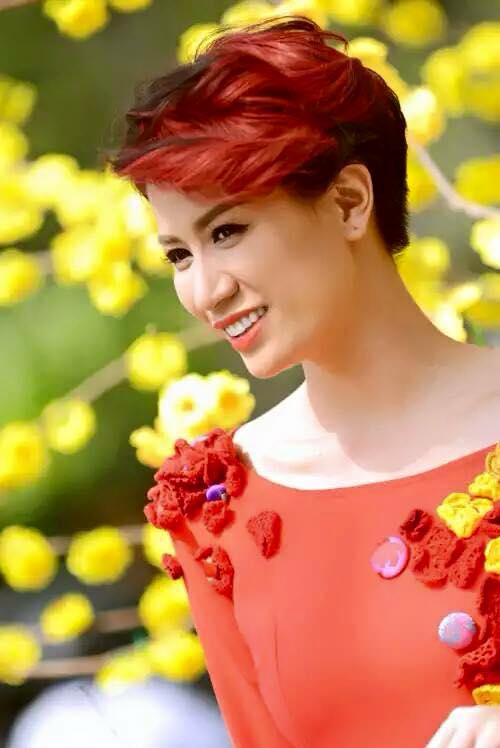 Trang Trần là người mẫu kiêm diễn viên. Ảnh: NSCC