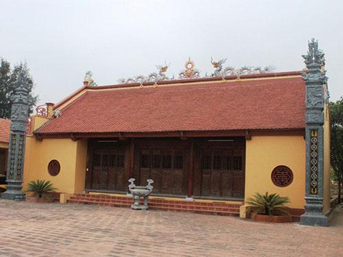 Đền Thành Hoàng làng Đồn Điền, nơi thờ 2 vị tướng Tô Chính Đạo và Uông Ngọc Châu