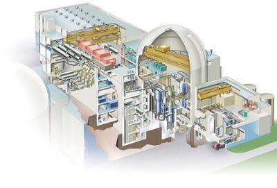 Mô hình lò phản ứng hạt nhân OPR 1000