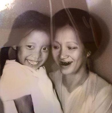 Bức ảnh đầy kỷ niệm về mẹ của MC Thảo Vân