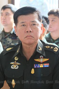 Tướng Theerachai Nakwanich. Ảnh: Bangkok Post
