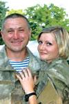 Chú rể Ilya Fedorenko và cô dâu Yulia Ảnh: FACEBOOK