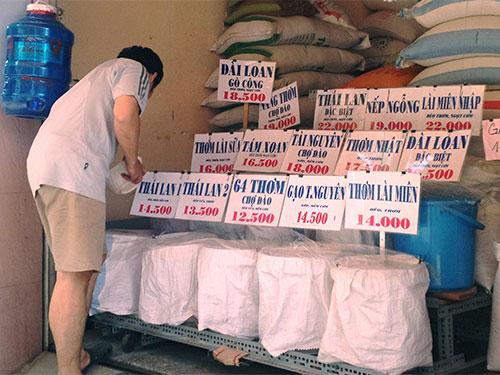 Thị trường trong nước được đánh giá là rất tiềm năng nhưng các doanh nghiệp kinh doanh gạo không dễ khai thácẢnh: LÊ PHONG