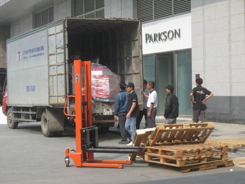 Parkson Hà Nội - trung tâm mua sắm lớn nhất Hà Nội - đột ngột đóng cửa sau 1 năm hoạt động vì thua lỗ Ảnh: NGUYỄN HƯỞNG