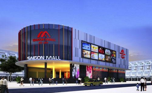 Trung tâm Thương mại SaigonMall nằm trên 2 trục đường chính Nguyễn Oanh và Phan Văn Trị thuộc quận Gò Vấp, TP HCM