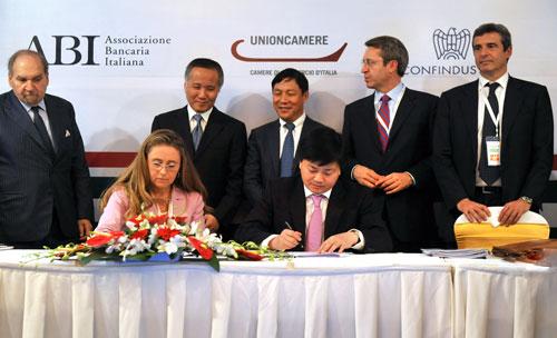 VietinBank ký hợp tác với nhiều đối tác tài chính lớn trên thế giới
