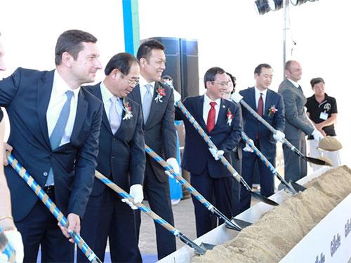 Công ty Protec & Gameble khởi công xây nhà máy có vốn đầu tư 100 triệu USD