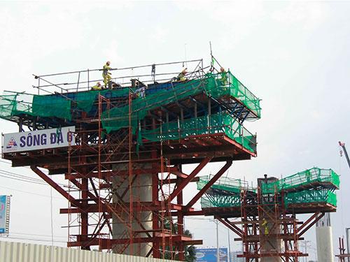 Dự án tuyến metro Bến Thành - Suối Tiên sử dụng vốn ODA Ảnh: HOÀNG TRIỀU
