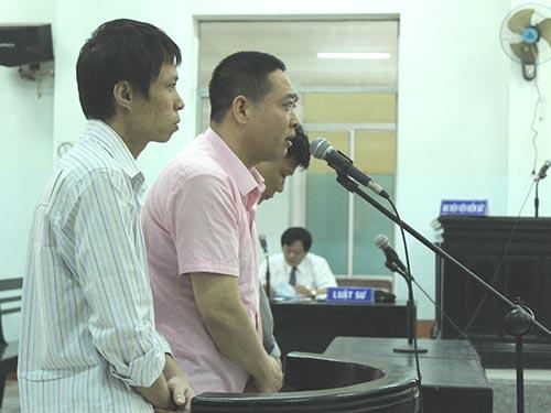 Các bị cáo xin giảm án tại phiên tòa ngày 6-2