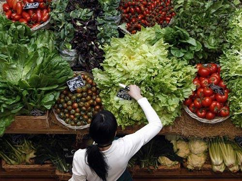 Chất xơ thường có trong thực phẩm có nguồn gốc thực vật Ảnh: REUTERS
