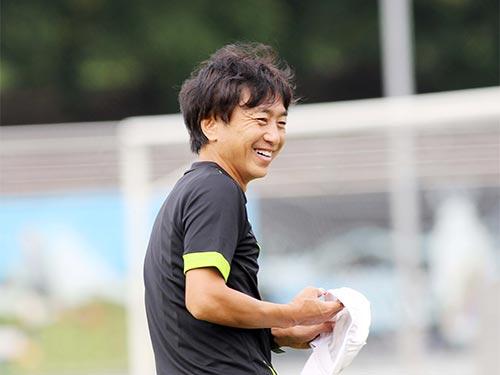 HLV Miura vẫn tự tin dù U23 Việt Nam không được đối thủ đánh giá cao Ảnh: HẢI ANH