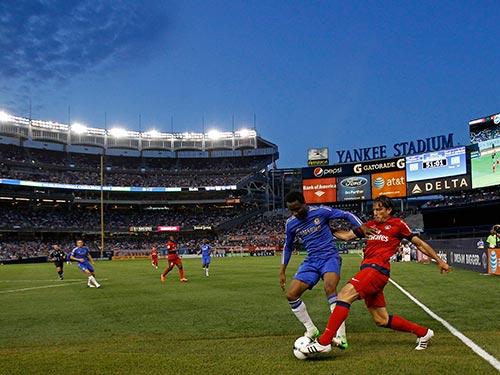 Sau 3 năm, Chelsea và PSG lại gặp nhau tại Mỹ trong khuôn khổ Champions Cup Ảnh: REUTERS