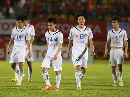 Cầu thủ SHB Đà Nẵng cần có những động lực mới để chiến thắng  Ảnh: QUANG LIÊM