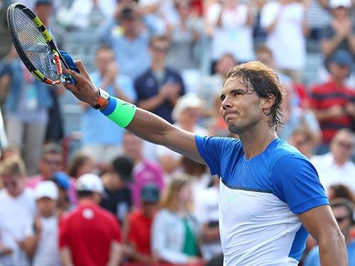 Nadal đang chơi hay ở Cincinnati thì lại thua Lopez sáng 21-8  Ảnh: REUTERS