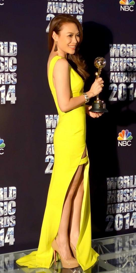 Mỹ Tâm lại được vinh danh tại giải thưởng quốc tế