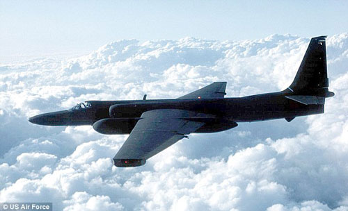 Máy bay do thám U-2 Ảnh: US AIR FORCE