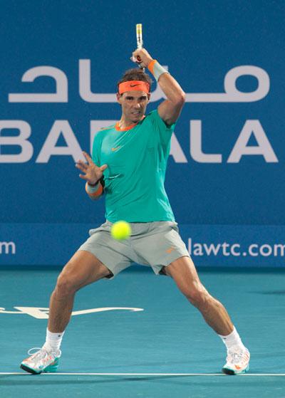 Sự trở lại của Nadal là một trong các điểm nhấn đáng chú ý của quần vợt thế giới mùa giải 2015   Ảnh: REUTERS