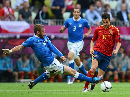 Ý và Tây Ban Nha sẽ chạm trán nhau ở vòng loại World Cup 2018 khu vực châu Âu Ảnh: REUTERS