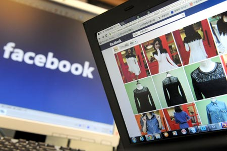 Học kinh doanh qua Facebook - Ảnh: internet