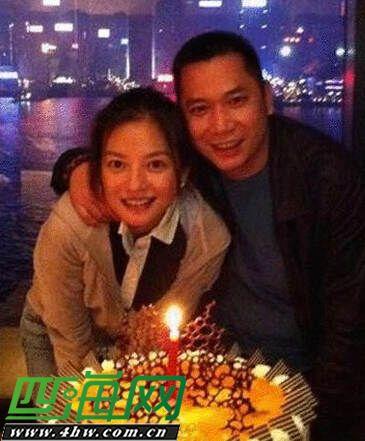 Triệu Vy và chồng Hữu Long