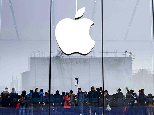 Một cửa hàng của Apple ở TP Hàng Châu, tỉnh Chiết Giang - Trung Quốc Ảnh: REUTERS