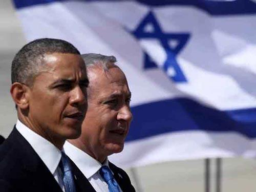 Tổng thống Mỹ Barack Obama gọi điện chúc mừng chiến thắng của Thủ tướng Israel Benjamin Netanyahu nhưng kèm theo đó là lời cảnh báo nghiêm trọng Ảnh: INDEPENDENT